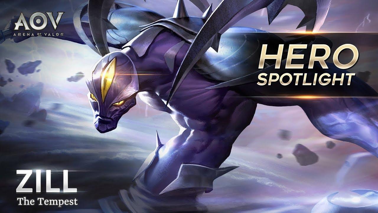 Zill Hero Spotlight Garena Aov Arena Of Valor