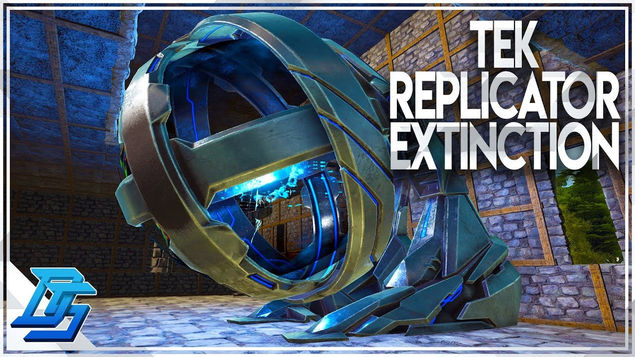 Where to craft tek replicator extinction