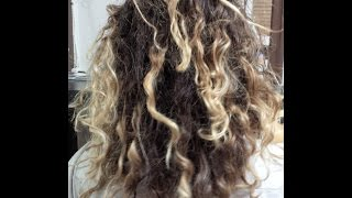 Mixed Hair | Curly/Frizzy Caucasain/Straighter hair type using OXX System