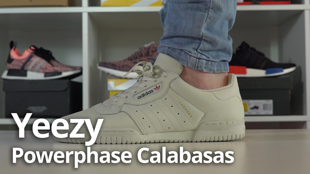 22402f216 adidas YEEZY Powerphase Calabasas Unboxing   Review   On Foot - YouTube
