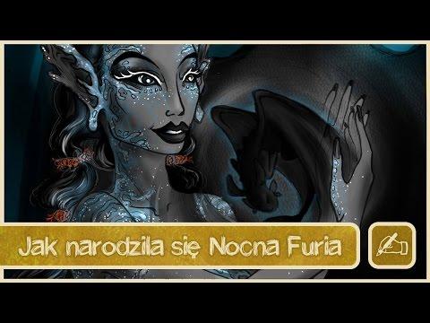 Olsikowa rysuje#10 - Jak narodziła się Nocna Furia