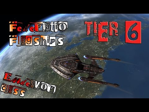 Federation Flagships, Star Cruiser,  Endeavor Class [T6] wit