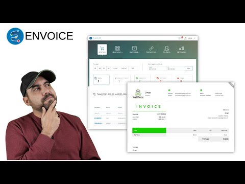 Invoicing and process payment system for your business called Envoice