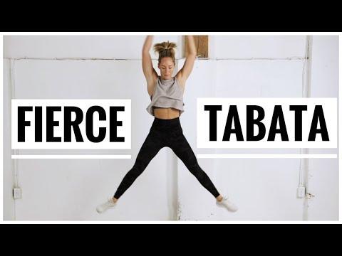 Fierce TABATA Workout Finisher // No equipment Tabata