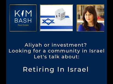 Retiring In Israel