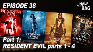 Half in the Bag Episode 38: Resident Evil series Part 1
