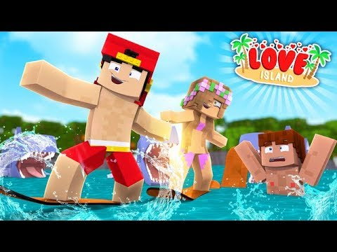 Minecraft LOVE ISLAND - SCUBA STEVE LOSES A DATE WITH THE NEW GIRL MILEY
