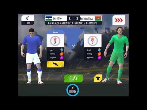 I Play For Lesotho!!!!!||New App Soccer Star