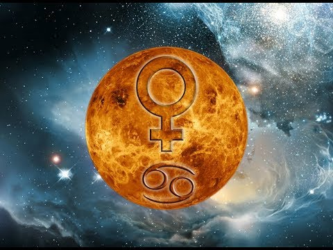 Venus Goes Into Cancer - VALUE YOUR FEELINGS - FLIGHT ASTEROLOGY