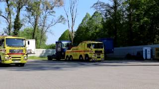 Holowanie TIR Niemcy - SZKWAREK - Holowanie Ciągnika i Naczepy z wypadku - Tel. +95 758 2341