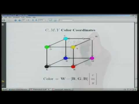 Digital Image Processing I - Lecture 26 - Color Matching Functions and Subtractive Color Systems