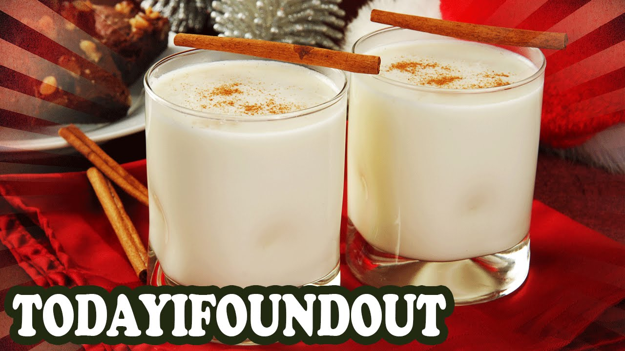 how to make eggnog youtube