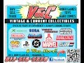 V&C Ep. #7 collection of action figures models and video games