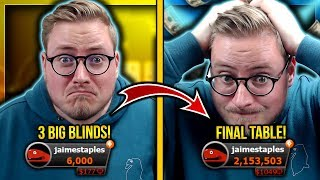 INSANE COME BACK?! - $30,000 FOR 1ST!! $320 KO SERIES FINAL TABLE!!
