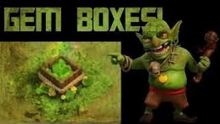 GEM BOX! How to get free GEM from GEM BOX and obstacles in CLASH OF CLANS