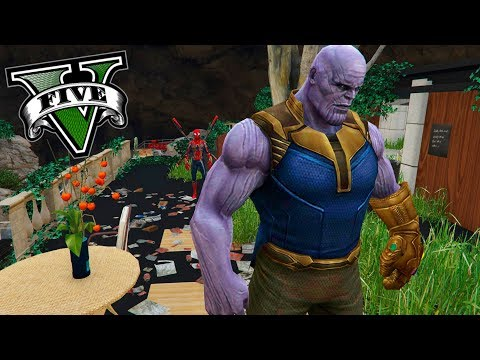 GTA V PC MODS - HE ENCONTRADO A *THANOS* EN LOS SANTOS ! - ElChurches