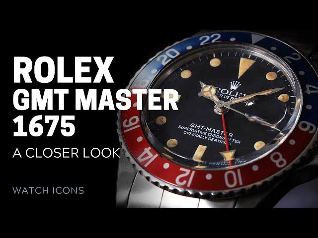 Rolex GMT Master 1675: The Quintessential GMT Master | SwissWatchExpo [Rolex Watches]