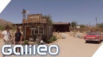 Pioneer Town: Leben in einer alten Wild West-Filmkulisse | Galileo | ProSieben