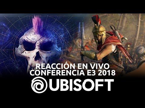Conferencia Ubisoft - Reacción en Vivo, E3 2018 | 3GB