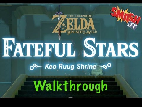 Keo Ruug Shrine Fateful Stars Walkthrough - Zelda Breath of the Wild - BOTW