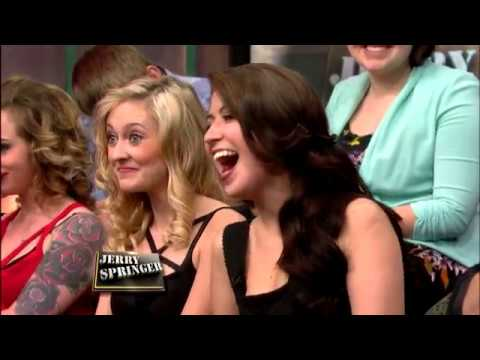 The point Naked bitches on jerry springer thanks for