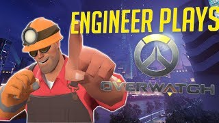 Engineer from TF2 Voice Trolling in Overwatch! (Using a TF2 Soundboard Funny Moments)