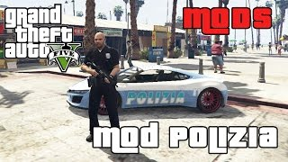 GTA 5 MOD ITA - LAVORIAMO PER LA POLIZIA!! - GTA 5 POLICE MOD GAMEPLAY ITA