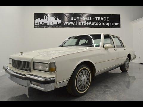 Ds 1988 Chevrolet Caprice Classic For Sale Doovi