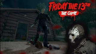 Friday the 13th the game - Gameplay 2.0 - Jason part 7