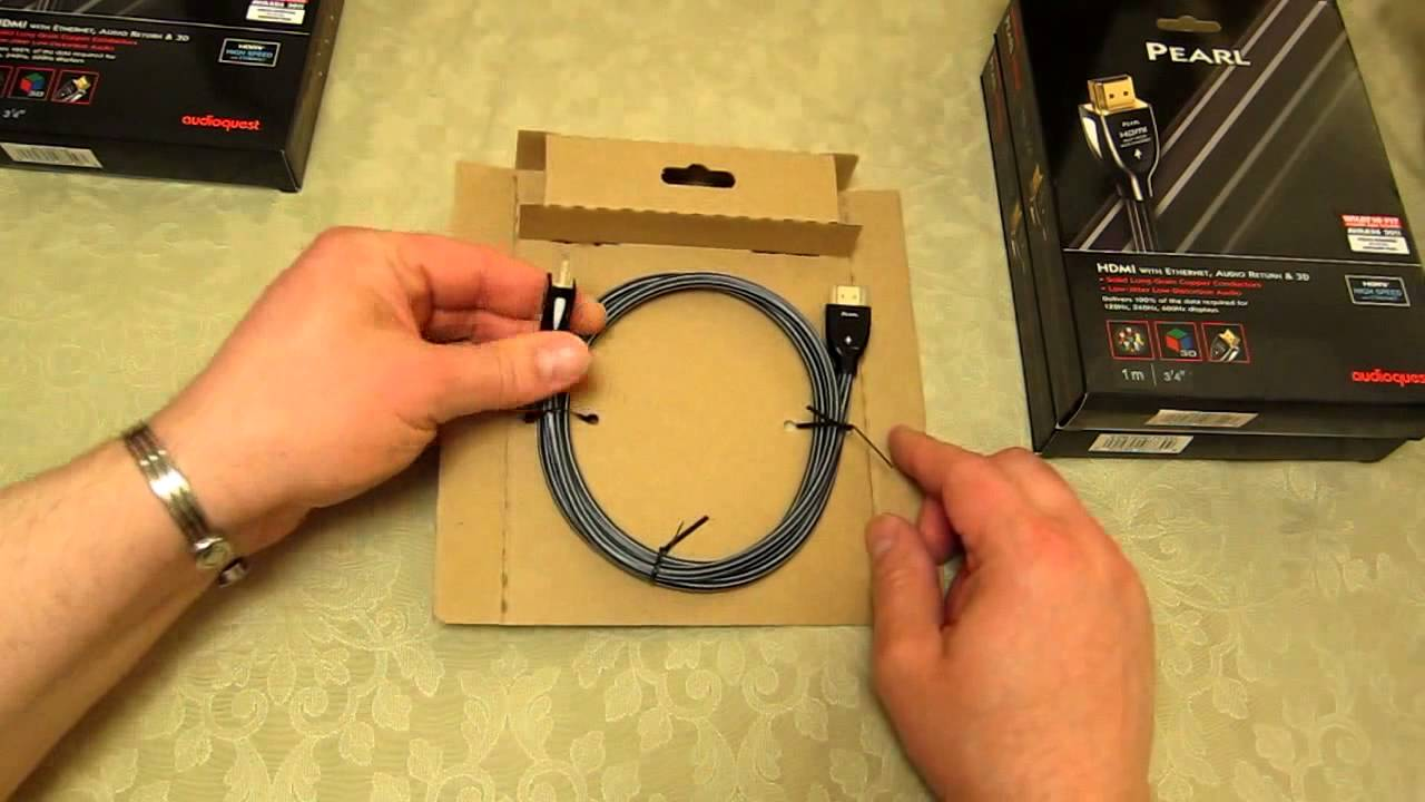 Audioquest Pearl HDMI 1 4 cable - How to ensure you have a