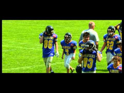 AMERICAN FOOTBALL   AFC Rangers VS Danube Dragons 2013