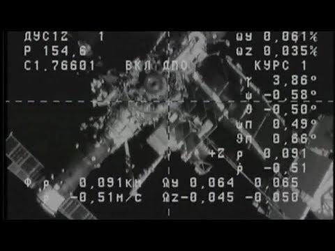 Full Progress MS-08 69P Resupply Ship Docking To International Space Station Coverage