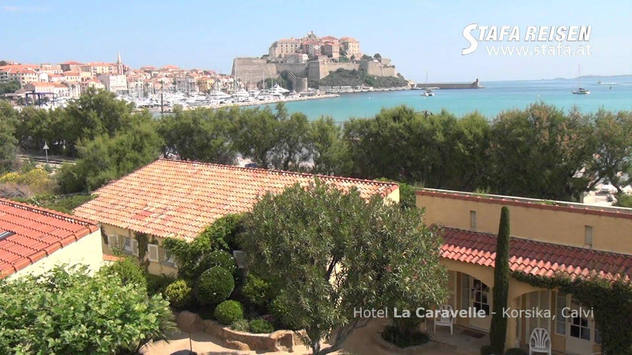 Hotel La Caravelle In Calvi Auf Korsika