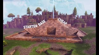 CHEAP Fortnite Starter Homebase | Fortnite Save The World | StoneWood