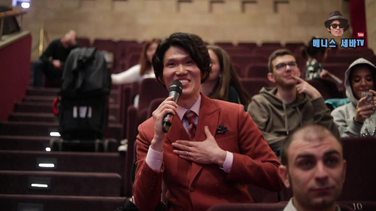2018 베니스세바, 피렌체 한국영화제 하정우를 만나다 - YouTube