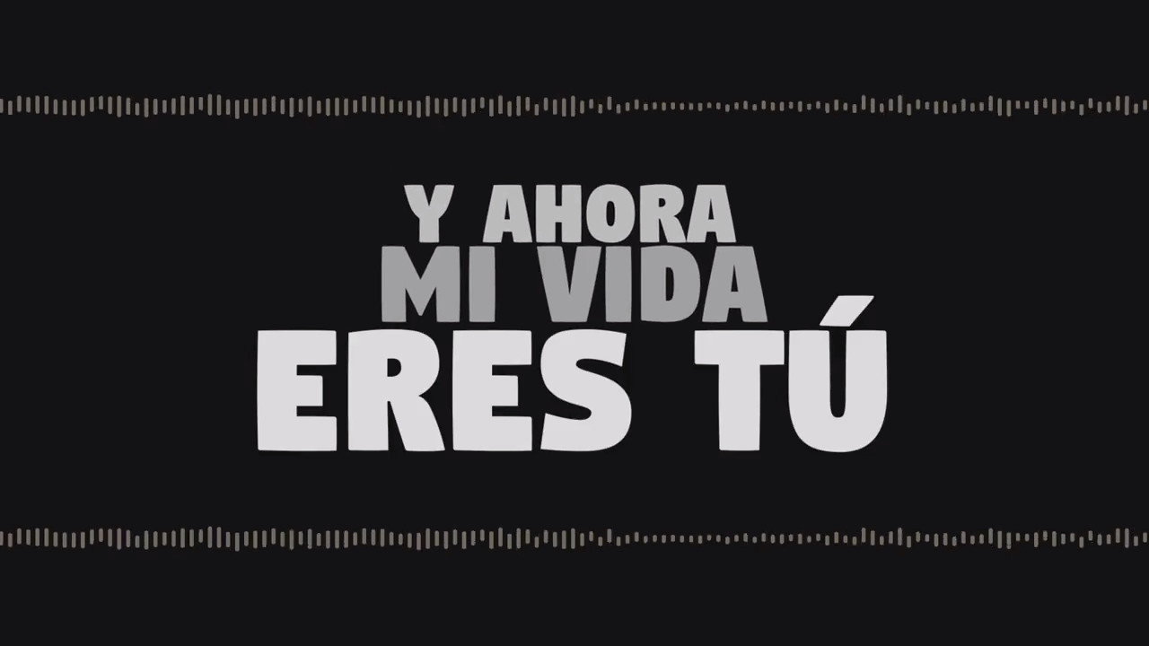 Lucah Mi Vida Eres Tu Lyric Video Youtube