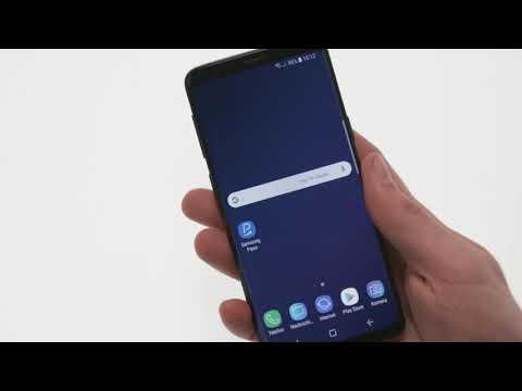 Samsung Galaxy S9: Verwendung von Samsung Pass - YouTube