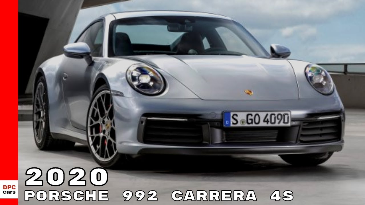 2020 porsche 911 992 carrera 4s youtube. Black Bedroom Furniture Sets. Home Design Ideas