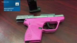 Tsa Says Record Breaking Number Of Guns Found