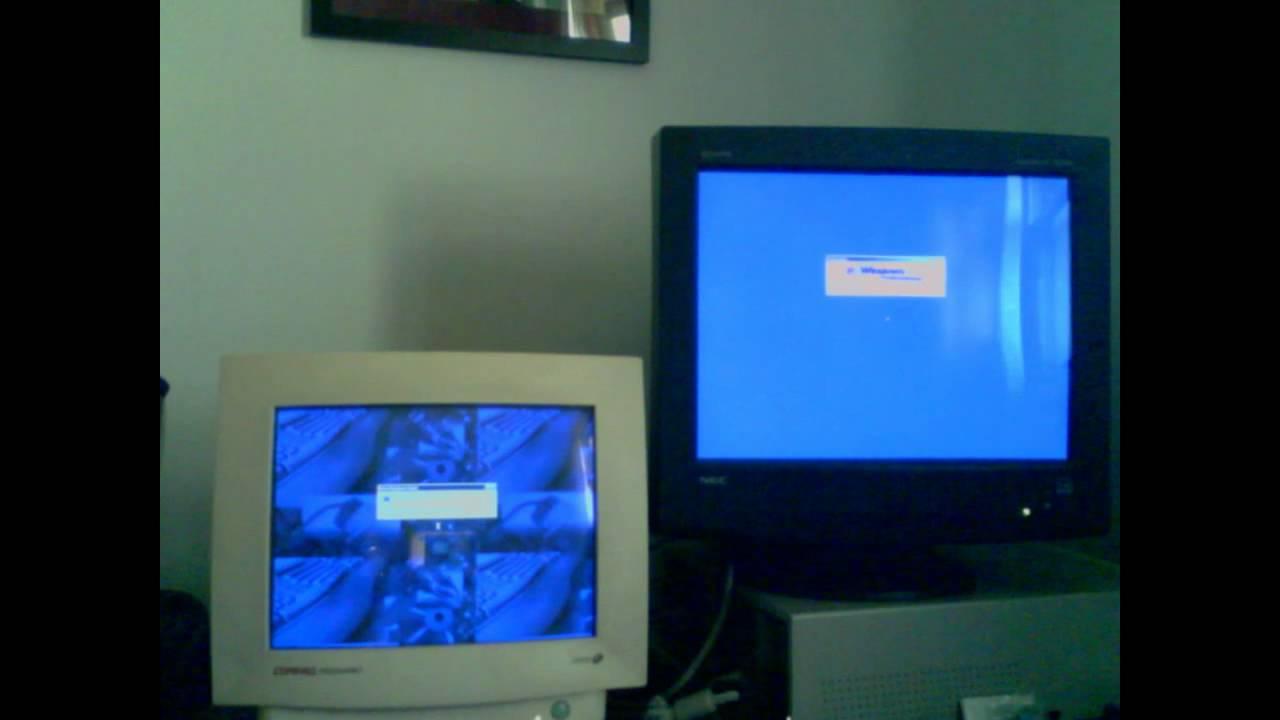 1998 Compaq Presario Vs 2000 Dell Dimension Xps Youtube