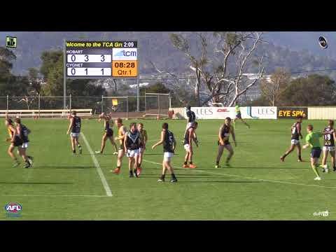 Southern Football League R4 2018 Hobart v Cygnet