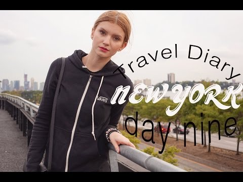 Travel Diary | New York Day 9 | Highline Park, Flatiron Building, Soho, China Town