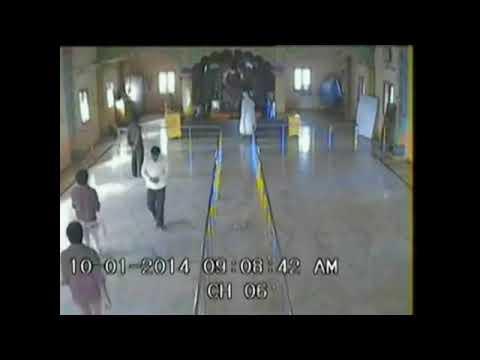 Shiridi Sai baba Appears on  CCTV  in human form