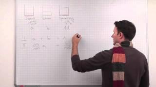Lineare Gleichungssysteme, Mischaufgabe, Beispiel