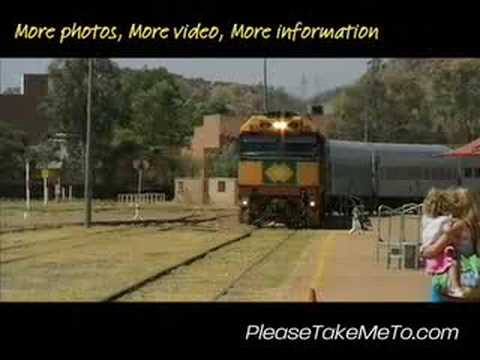 Alice Springs Railway Station, Northern Territory