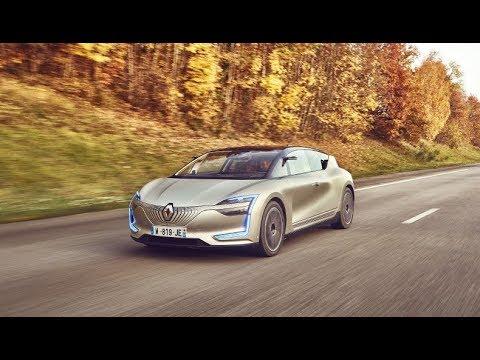 Renault показала беспилотный концепт-кар. С виртуальной реальностью
