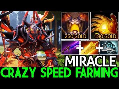 Miracle- [Doom] Crazy Speed Farming Rich Offlane Gameplay 7.21 Dota 2 thumbnail