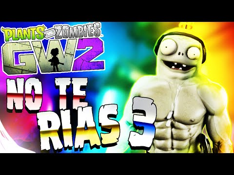 PLANTAS VS ZOMBIES GW2 - INTENTA NO REÍR | MOMENTOS GRACIOSOS