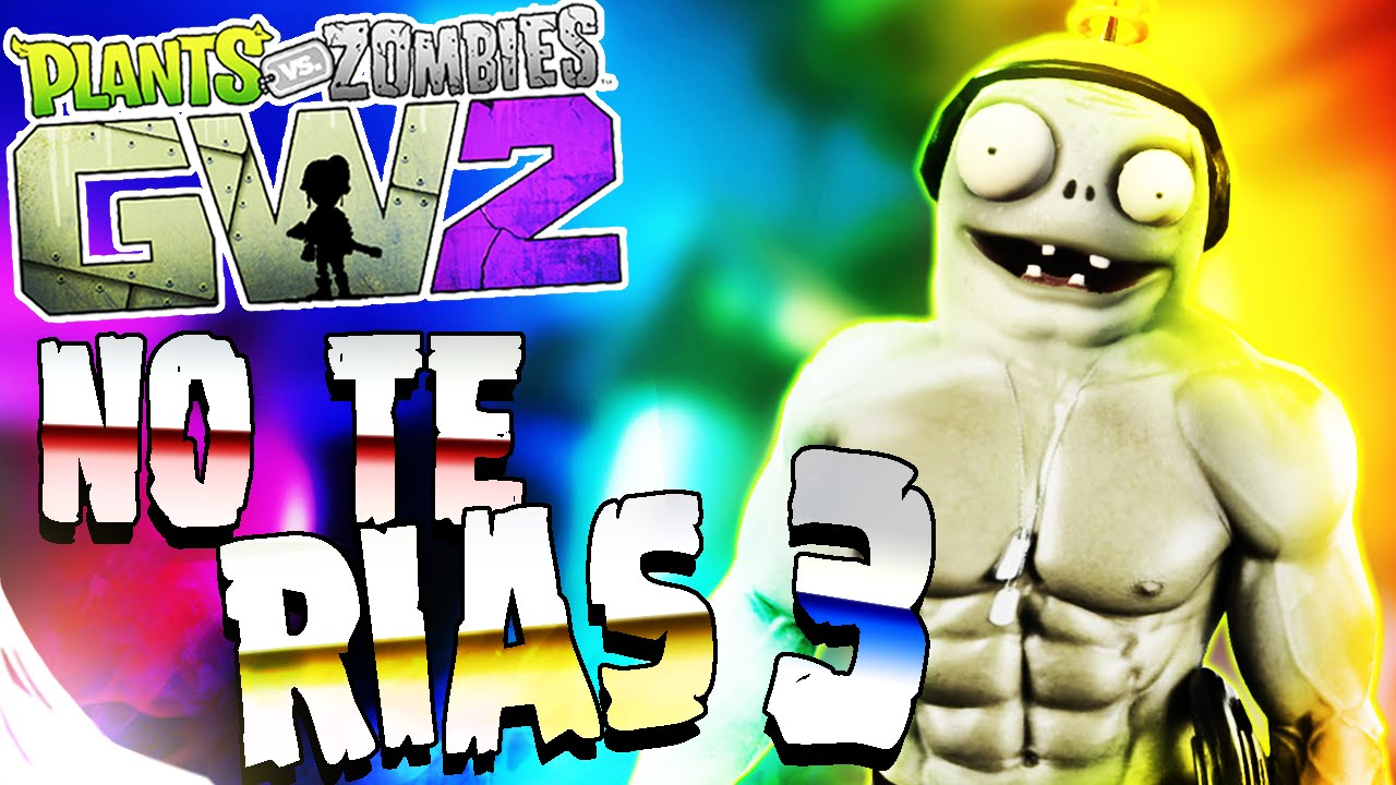 PLANTAS VS ZOMBIES GW2   INTENTA NO REÍR | MOMENTOS GRACIOSOS