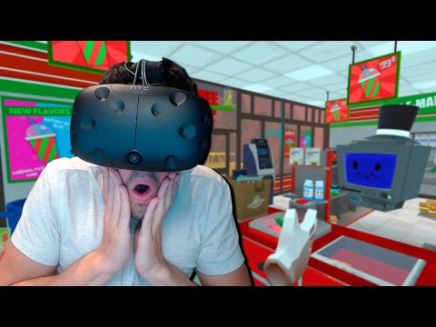 BADULAKE REALIDAD VIRTUAL!! Job Simulator (HTC VIVE VR)